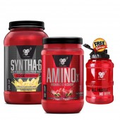 BSN Syntha 6 Edge + Amino X + FREE BSN Water Bottle