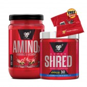 BSN Amino X 30 Serves + Hyper Shred 30 Serves