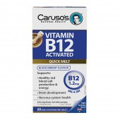 Vitamin B12 Activated 1200mcg by Carusos Natural Health