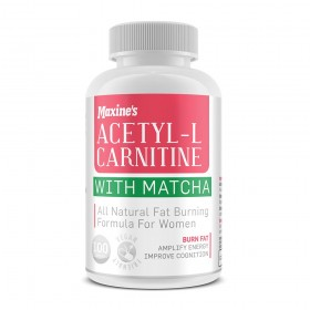 Maxine's Acetyl-L Carnitine + Matcha 100 Capsules