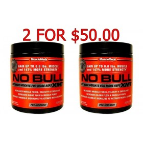 No Bull XMY Pre workout By Musclemeds