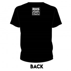 RHS Apparel Black & White Custom Street Tee Shirt